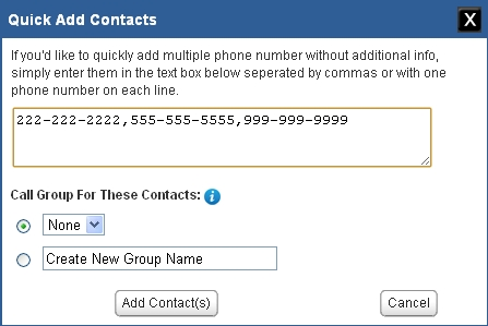 how to add phone number to unsolicitated list
